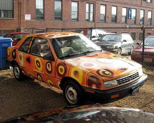 роспись на автомобиле