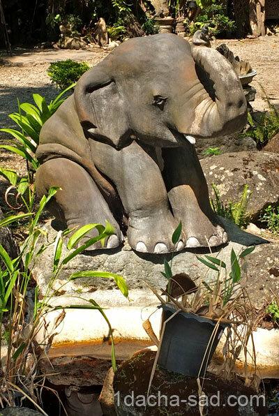 Статуэтка слона для дачи