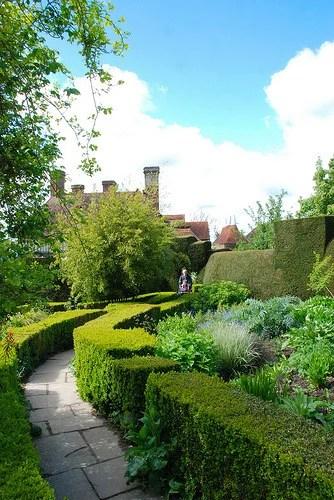 сады усадьба большой дикстер ландшафтный дизайн цветник старинный дом