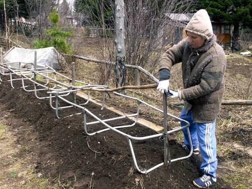 Обработка тепличной и парниковой почвы