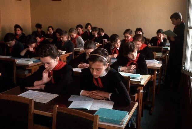 Moscow Schoolroom