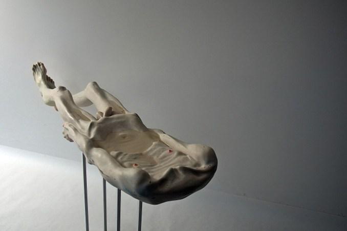 Оригинальные скульптуры из частей тела