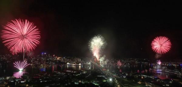 Новогодние фейерверки мира