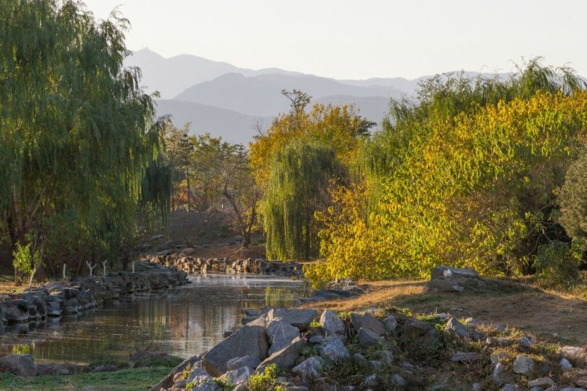 Горы Сишань, парк Юаньминъюань, Пекин