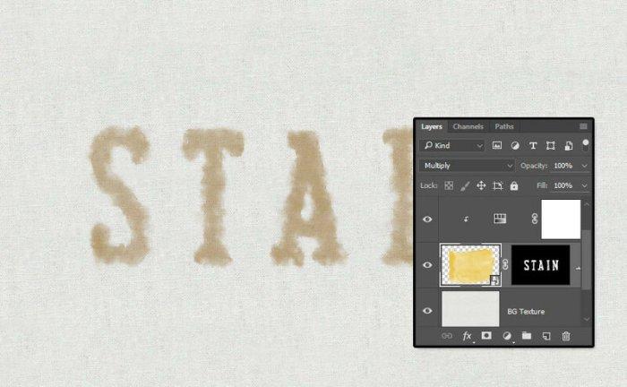 Уроки Photoshop: Создаем текстовый эффект в виде кофейного пятна