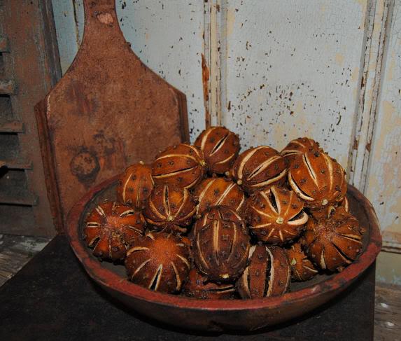 Pomme d'ambre/Помандер - хранитель новогодних ароматов