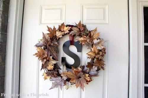 идеи для веночков на дверь
