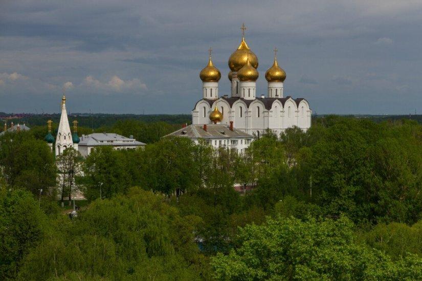 Панорама Ярославля, Успенский кафедральный собор