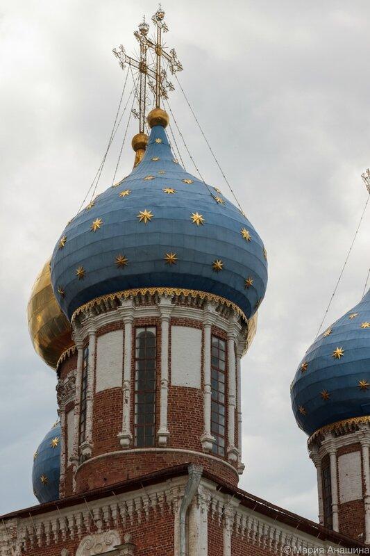Купола Успенского собора, Рязанский кремль