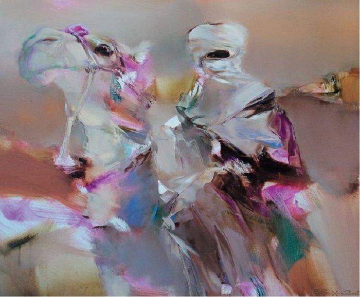 Валерий Блохин. Цвет на грани абстракции.