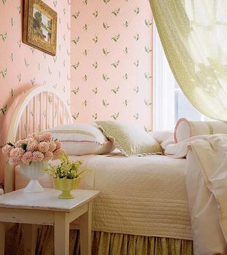 винтажная спальня
