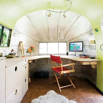 дом и офис в трейлере