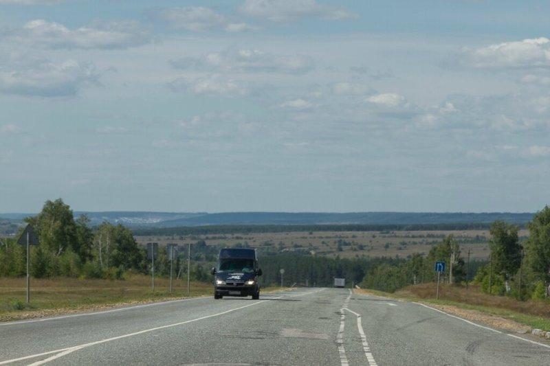 Трасса М-5, Ульяновская область