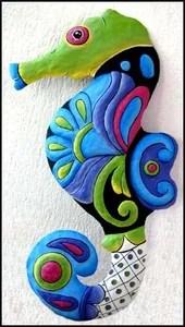 роспись морской конек