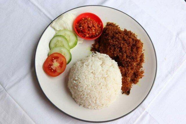 Пластиковый рис