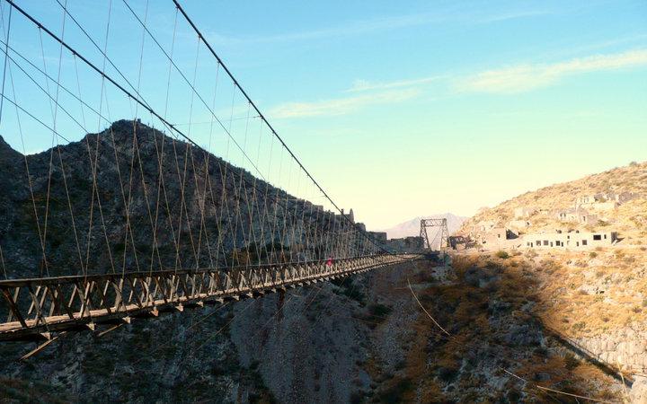 Мост Пуэнте-де-Охуэла, Мексика.
