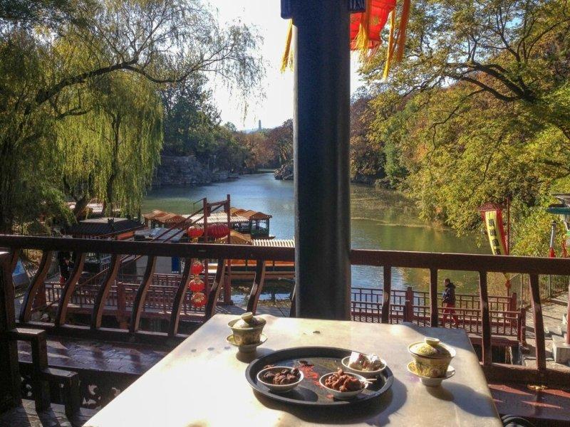 Чайная на улице Сучжоу
