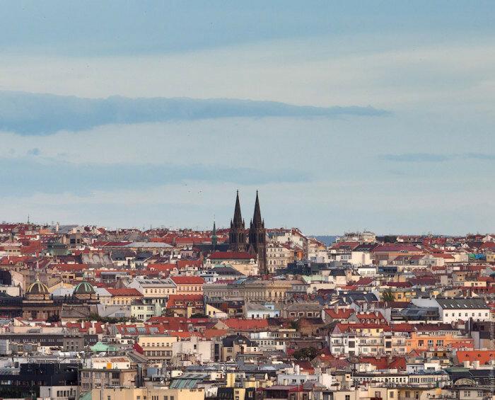 Собор Святого Вита и панорама города