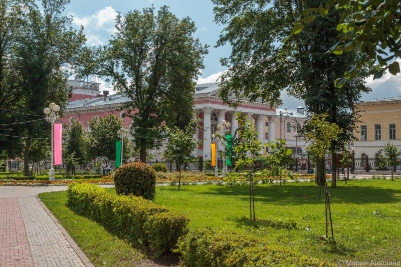 Тверской областной академический театр драмы, Тверь, Городской сад в Твери