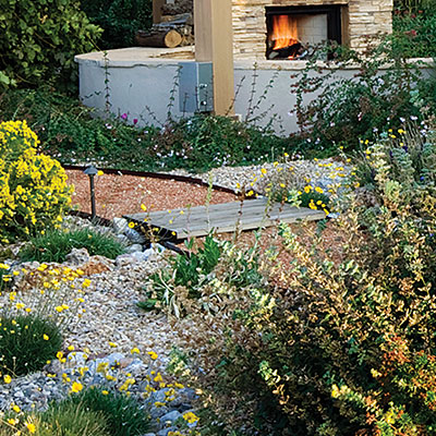 идеи садовых дорожек