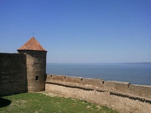 Цитадель крепости с видом на лиман