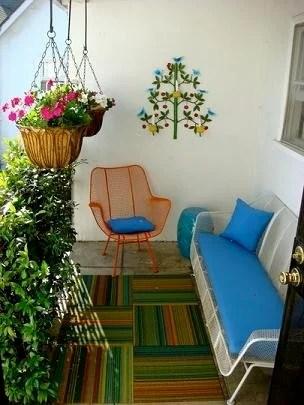 идеи по декору балкона