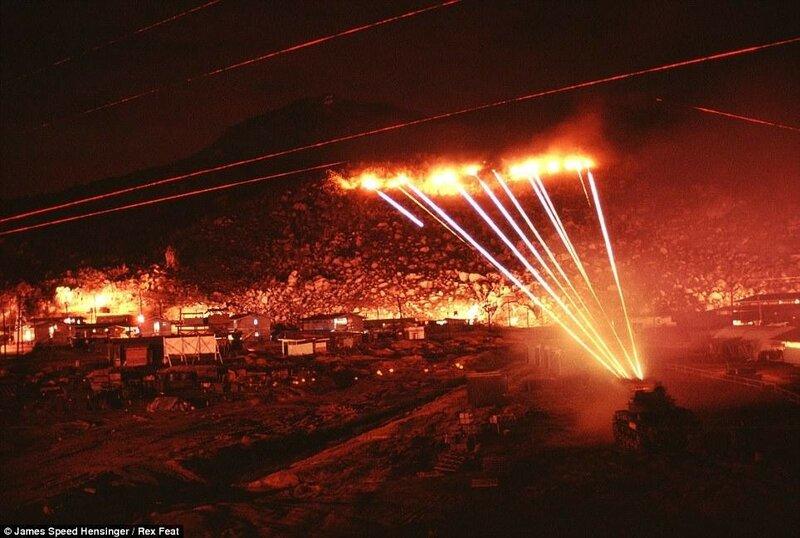 Ночные фотографии вьетнамской войны