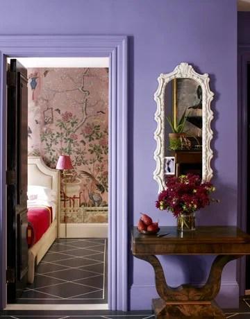 роспись на стене спальни