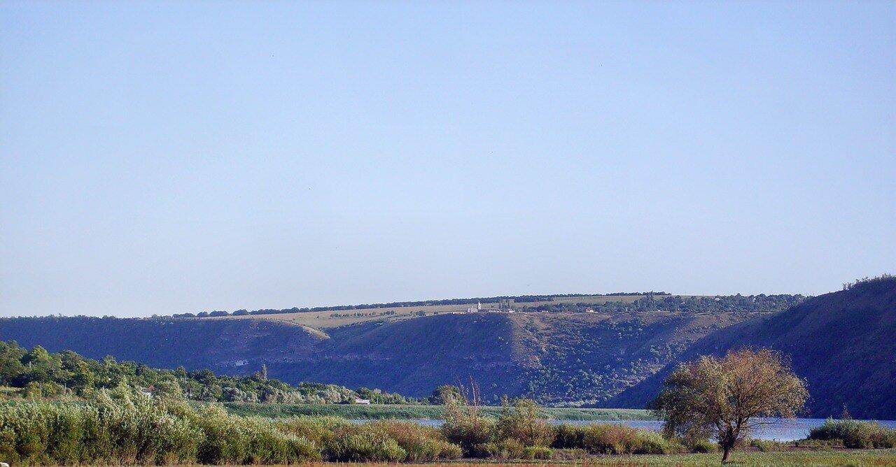 Вид на Циповскую Скалу -Tipova - Moldova