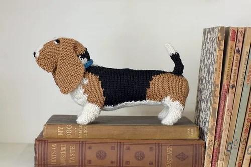 игрушки собаки спицами