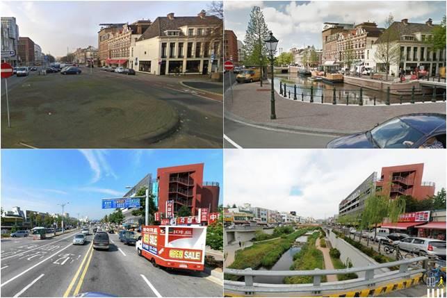 Как изменились города за 6 лет (Google Street View)