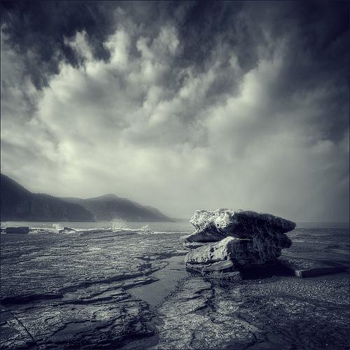 Фотограф Max Ash. Серия Echoes. 16 туманных пейзажей