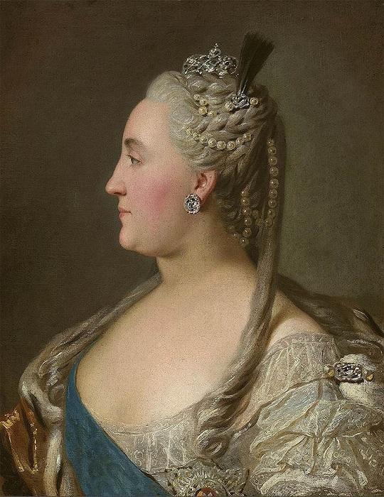 Российская императрица Екатерина Великая.