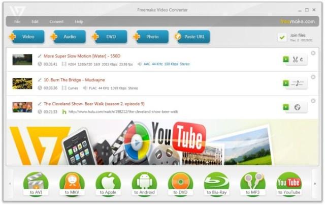 Бесплатный редактор видео Freemake Video Converter