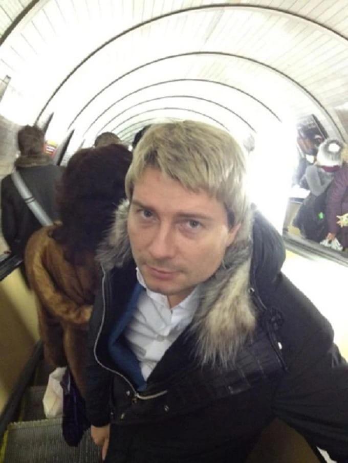 Николай Басков появился в метро, но только однажды.