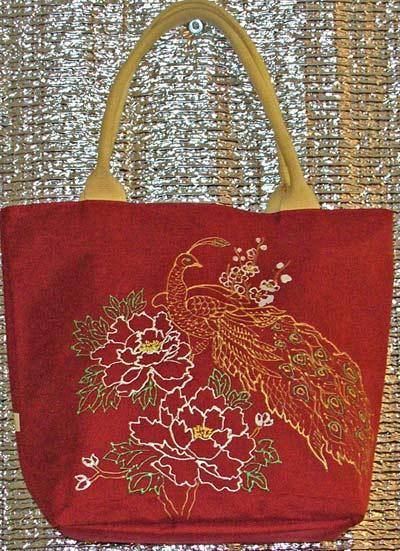 роспись сумки