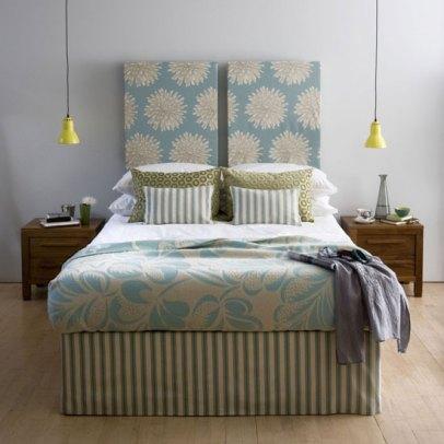 кровать с раздвоенной спинкой