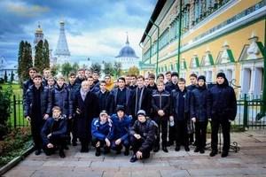 В Лавре, на территории Московской Духовной Академии