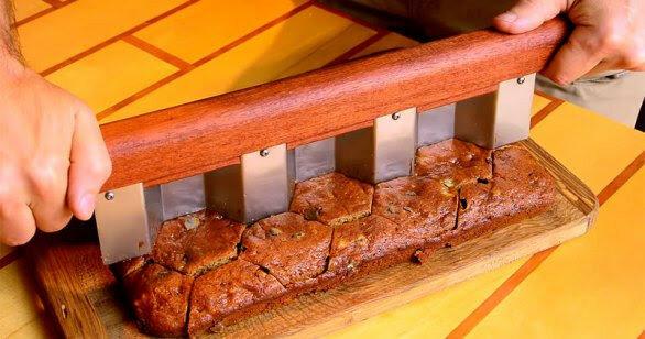 Как сделать нож для шестигранных кексов. Видео советы