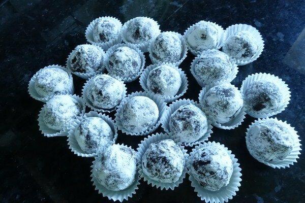 Сырно-шоколадные конфеты для всей семьи