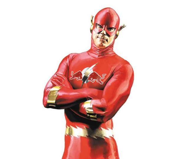 Roberto Vergati Santos. Супергерои и супербренды. 28шт.