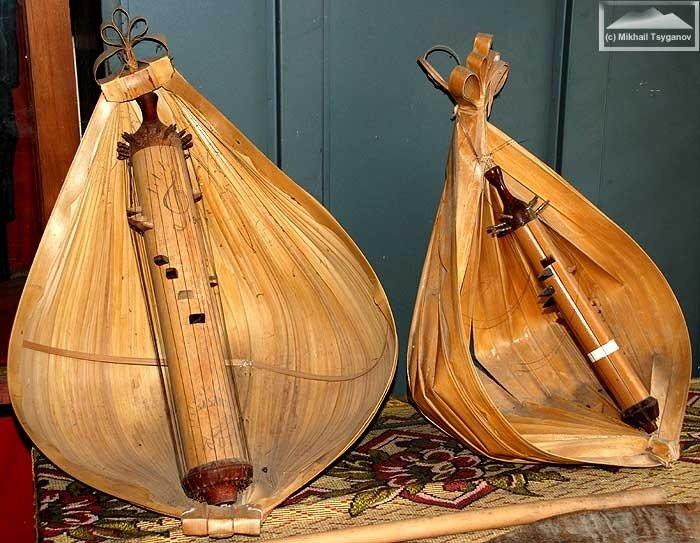 Музыкальные инструменты Флореса