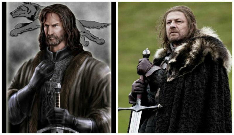 Лорд Эддард Старк по прозвищу Нед или Тихий Волк