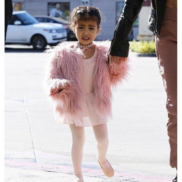 Норт Уэст — дочка Ким Кардашьян и рэпера Кани Уэста.