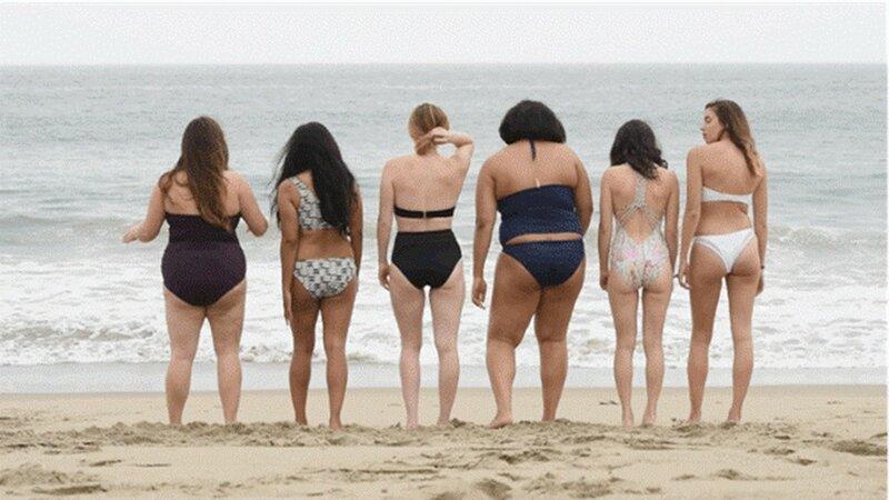 Фото: Обычные девушки в купальниках Victoria's Secret