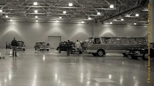 Подготовка к выставке. 90-летие ГОНа (Гараж Особого Назначения)