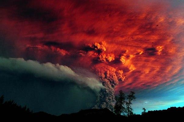 Красивые фотографии: извержения вулканов
