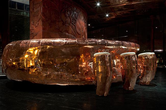 Ketel One Bar от Jenner Studio. Медь в интерьере