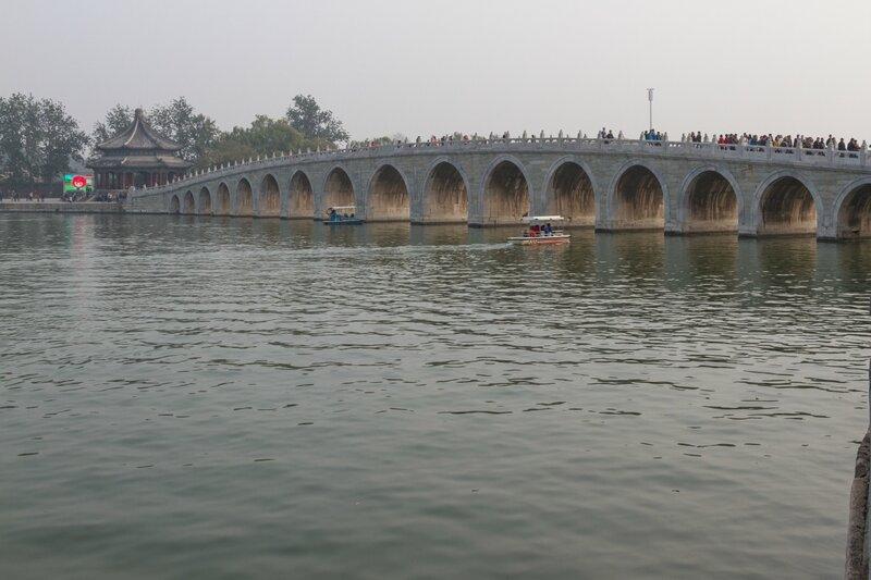 17-арочный мост, парк Ихэюань, Летний дворец, Пекин