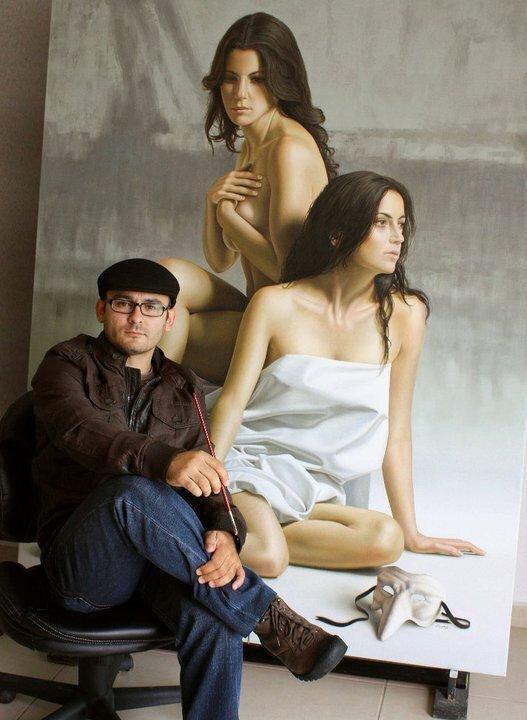 Невероятные картины Омара Ортиза в стиле гиперреализма (2/6)